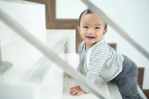 Cute,Happy,Asian,10,Months,Old,Toddler,Baby,Girl,Child